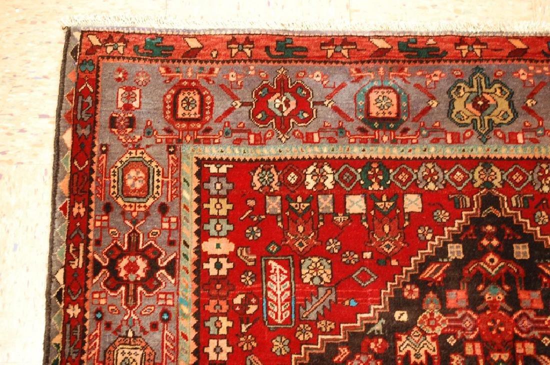 Persian Bijar Bidjar High Kpsi Kork Wool Rug 4.6x7.8 - 4