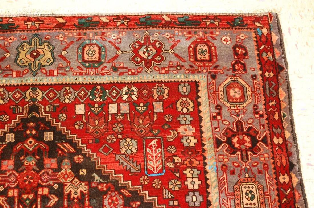 Persian Bijar Bidjar High Kpsi Kork Wool Rug 4.6x7.8 - 5