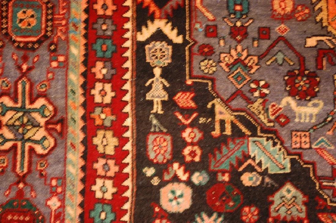 Persian Bijar Bidjar High Kpsi Kork Wool Rug 4.6x7.8 - 6