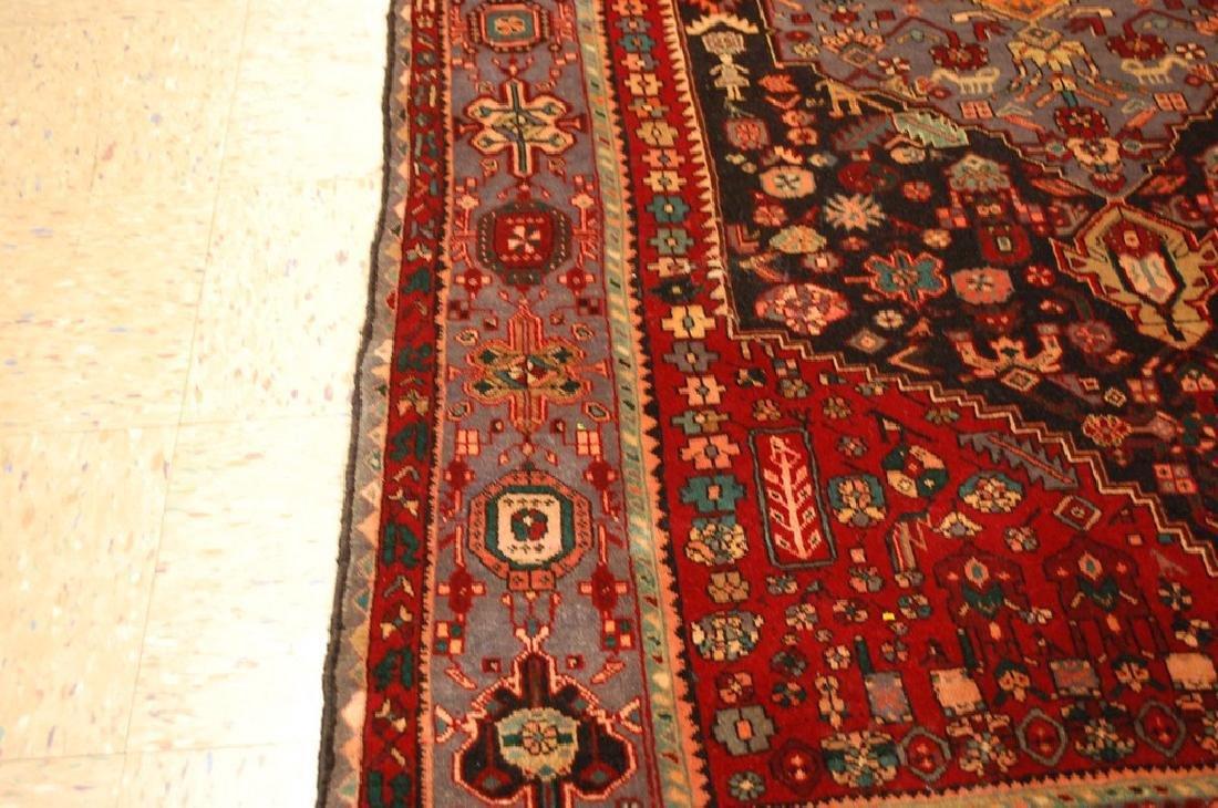 Persian Bijar Bidjar High Kpsi Kork Wool Rug 4.6x7.8 - 8