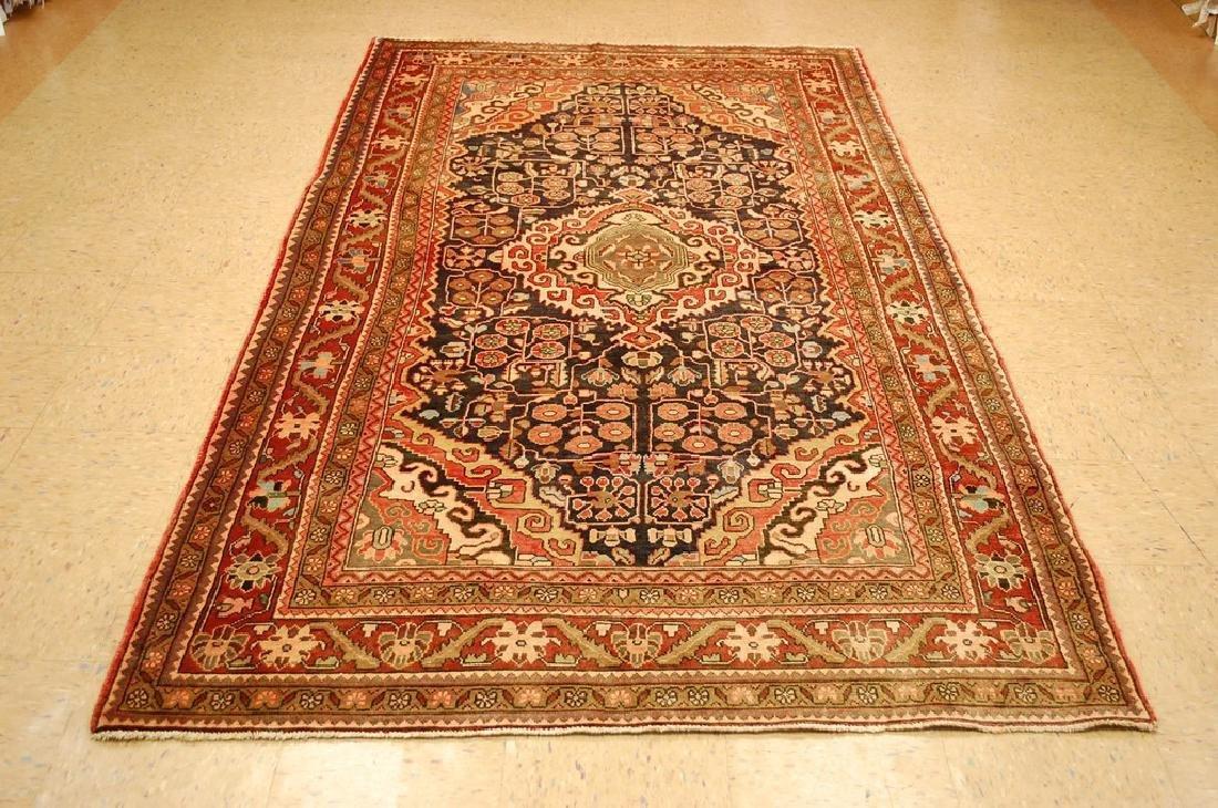 Fine Persian Sarouk Rug 5.4x9.6