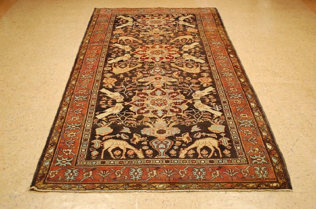 Fine Persian Sarouk Rug 4.6x10.2
