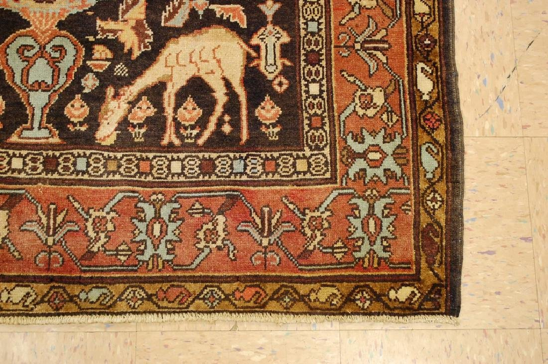 Fine Persian Sarouk Rug 4.6x10.2 - 2