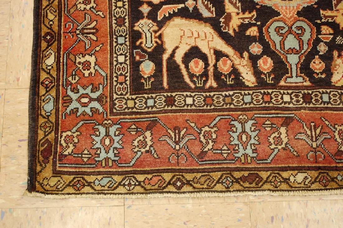 Fine Persian Sarouk Rug 4.6x10.2 - 3
