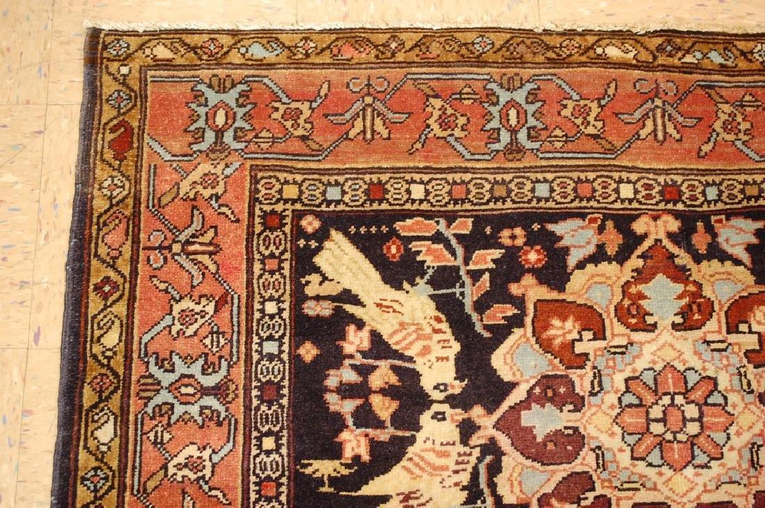 Fine Persian Sarouk Rug 4.6x10.2 - 4