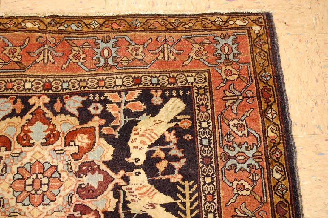 Fine Persian Sarouk Rug 4.6x10.2 - 5