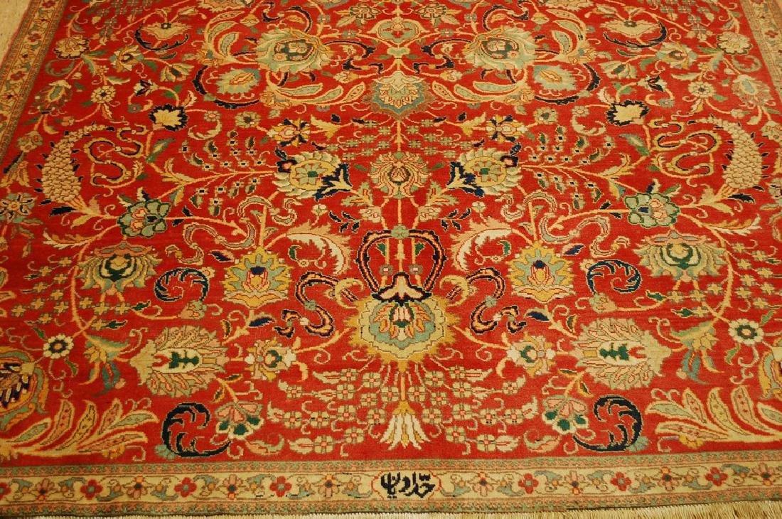 Master Weave Persian Tabriz Signed Hadadyan Rug 6.3x9.2 - 10