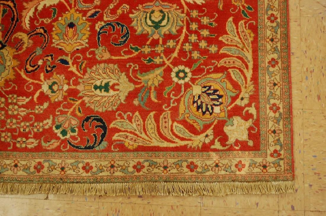 Master Weave Persian Tabriz Signed Hadadyan Rug 6.3x9.2 - 2