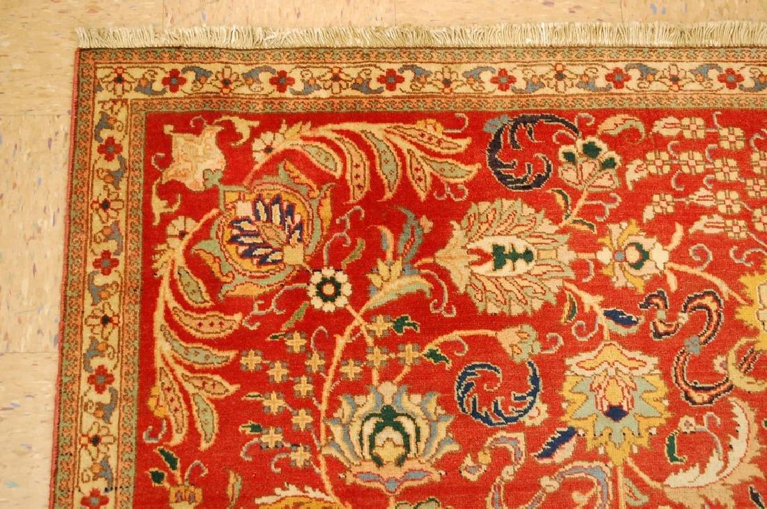 Master Weave Persian Tabriz Signed Hadadyan Rug 6.3x9.2 - 4