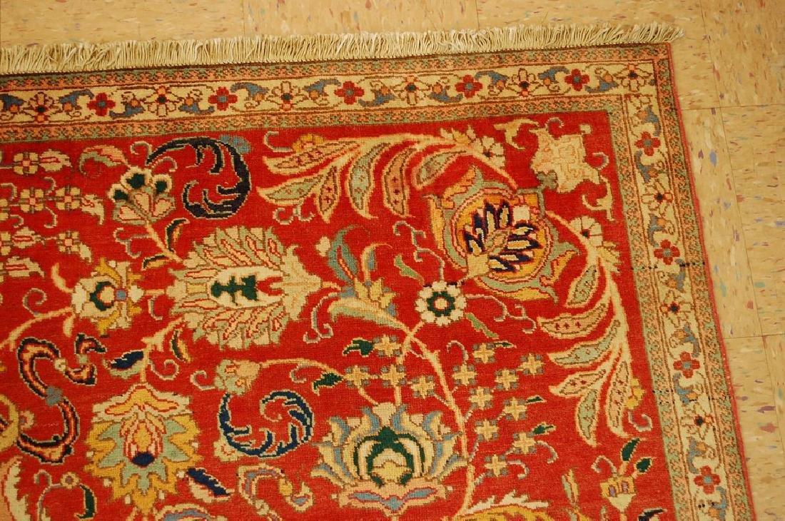 Master Weave Persian Tabriz Signed Hadadyan Rug 6.3x9.2 - 5