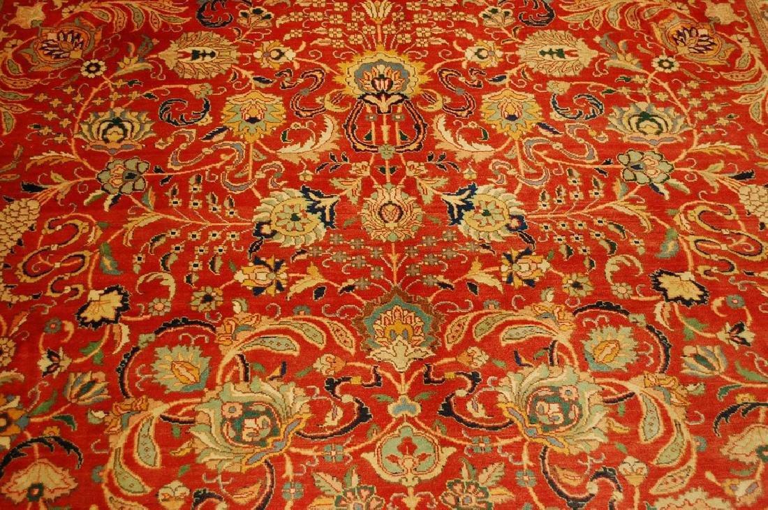 Master Weave Persian Tabriz Signed Hadadyan Rug 6.3x9.2 - 6