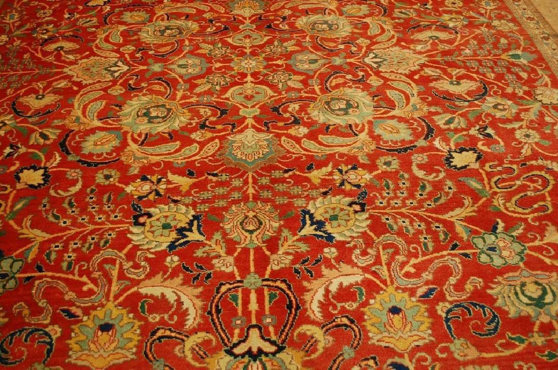 Master Weave Persian Tabriz Signed Hadadyan Rug 6.3x9.2 - 7