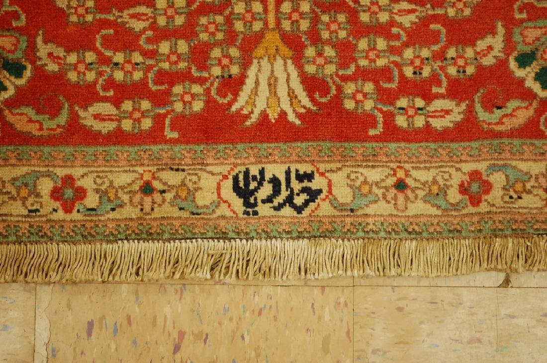 Master Weave Persian Tabriz Signed Hadadyan Rug 6.3x9.2 - 8