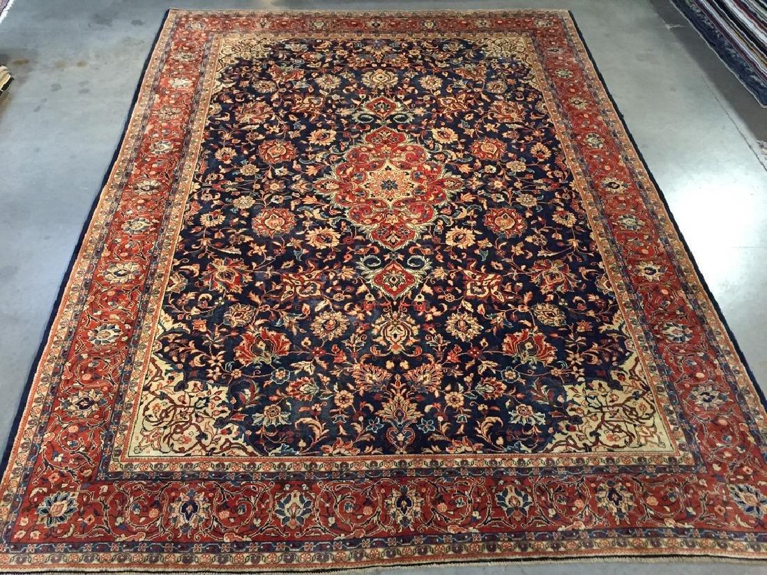 Exquisite Antique Persian Sarouk Rug 9x12.2