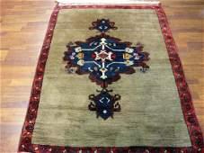 Antique Turkish Ushak Rug 4.6x11
