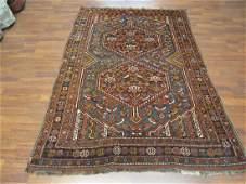 Antique Persian Shiraz Rug 46x66