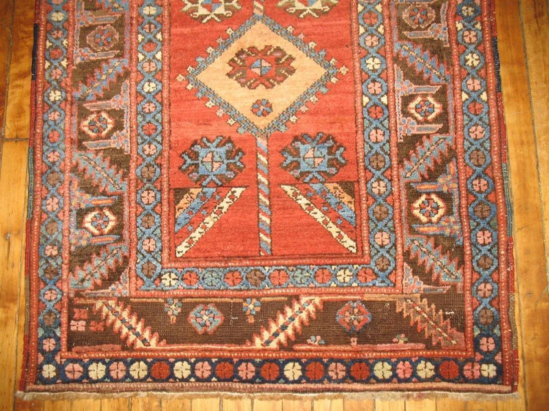 Antique Tribal Persian Heriz Serapi Bakhshaish Rug 3x5 - 2