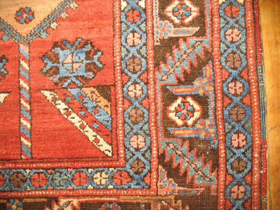 Antique Tribal Persian Heriz Serapi Bakhshaish Rug 3x5 - 3