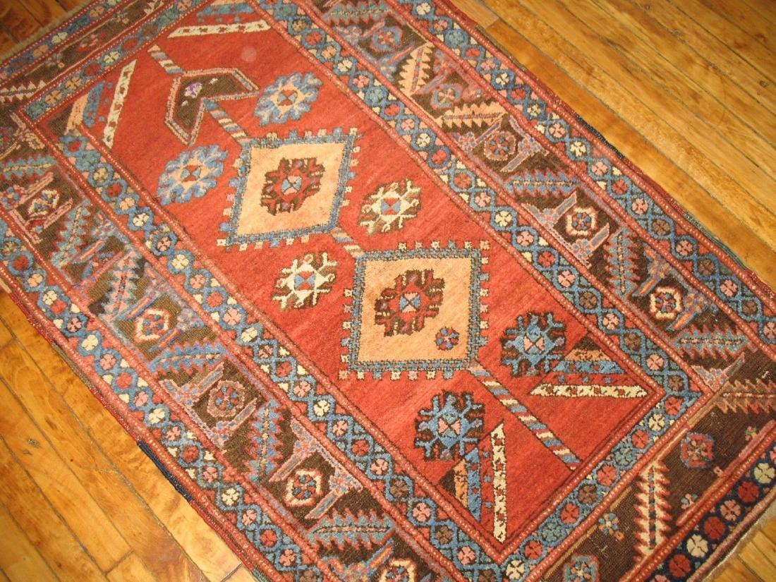 Antique Tribal Persian Heriz Serapi Bakhshaish Rug 3x5 - 4