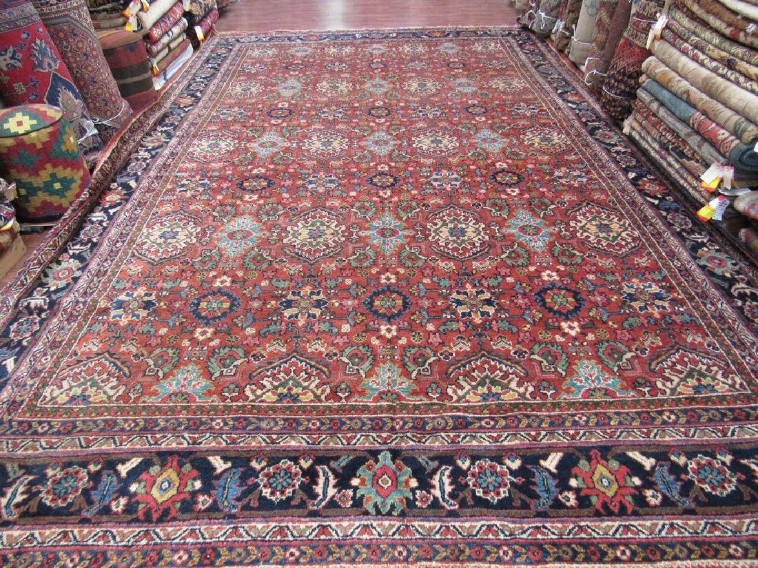 Large Size Persian All-Over Mahal Rug 10.7x17.8