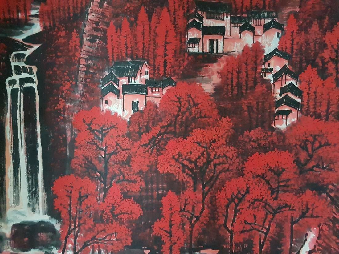 Chinese Painting on paper Li Keran - 10