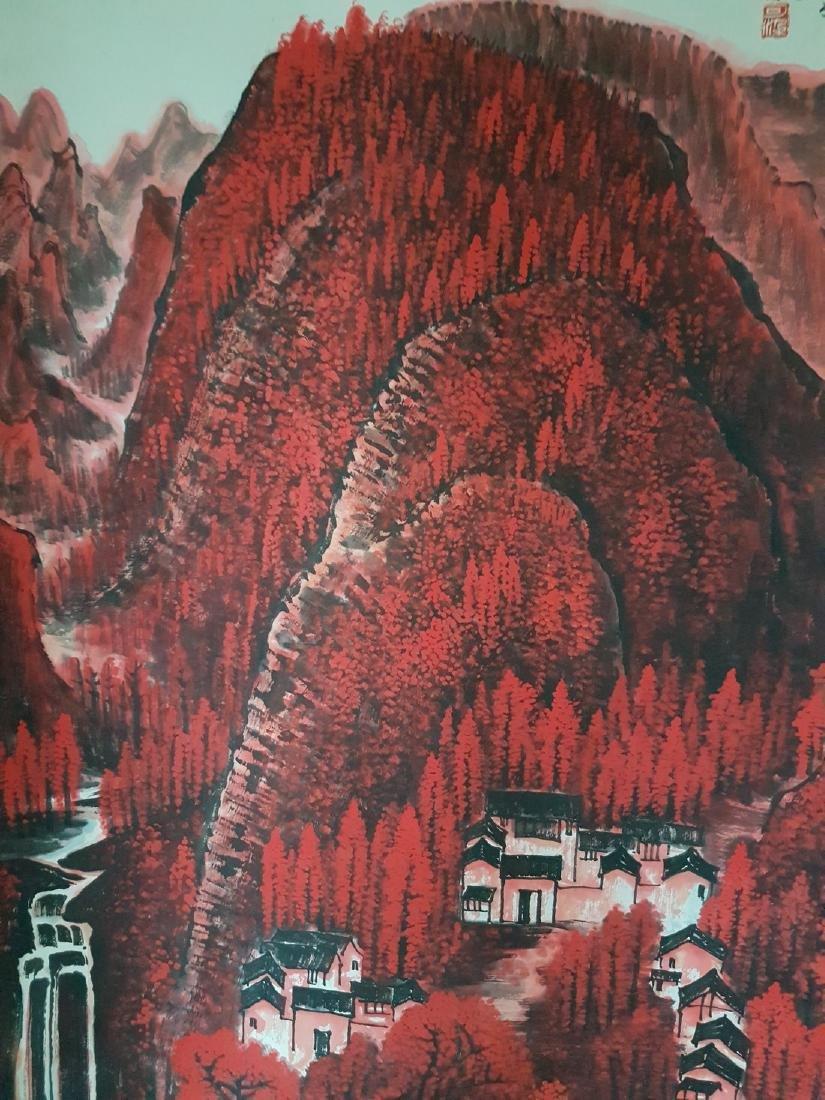Chinese Painting on paper Li Keran - 5