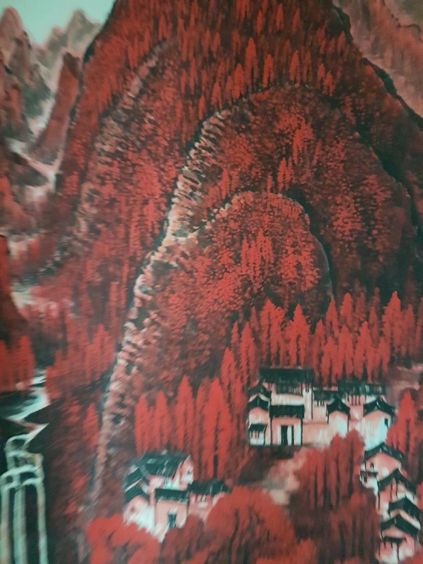 Chinese Painting on paper Li Keran - 7