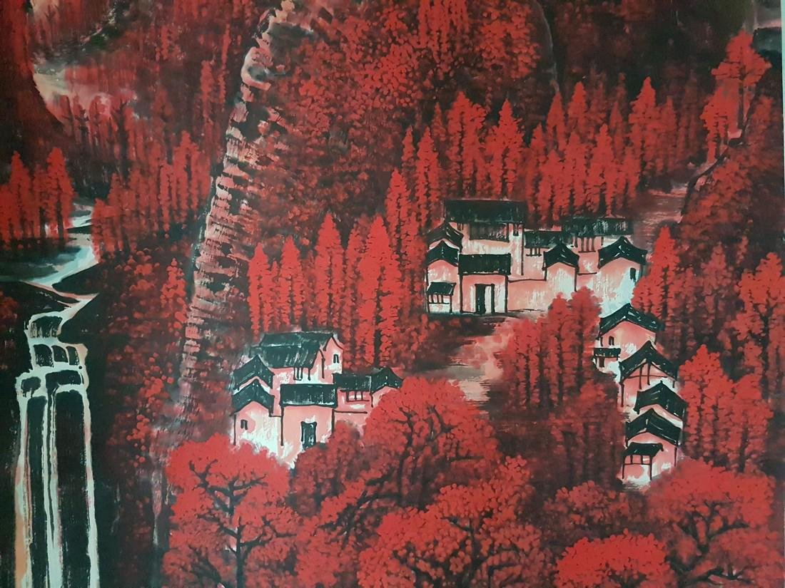 Chinese Painting on paper Li Keran - 8