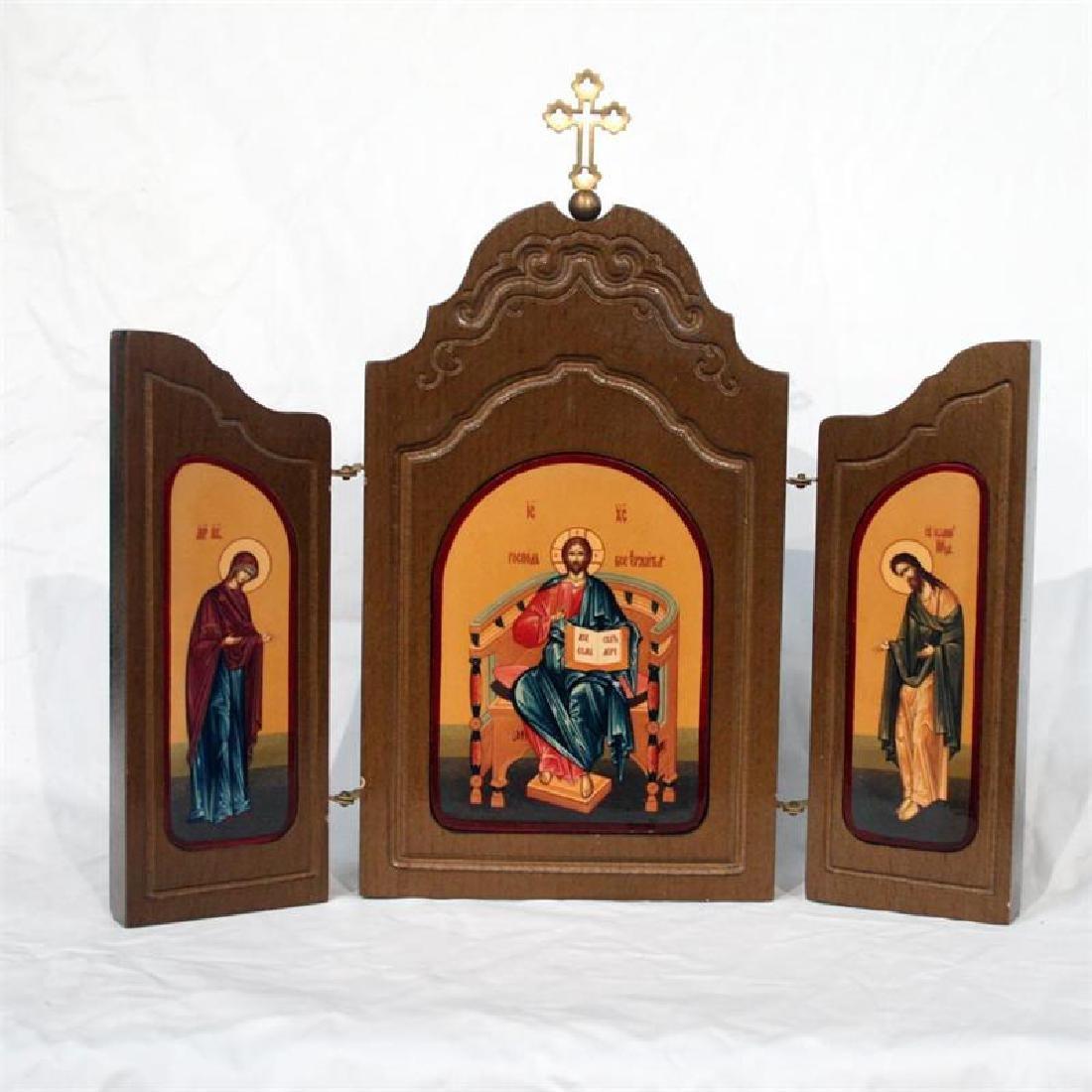 Triptych Diesis Icon