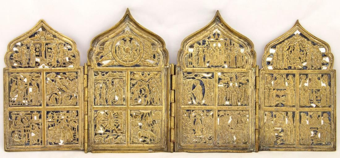 Quadriptych, Feasts