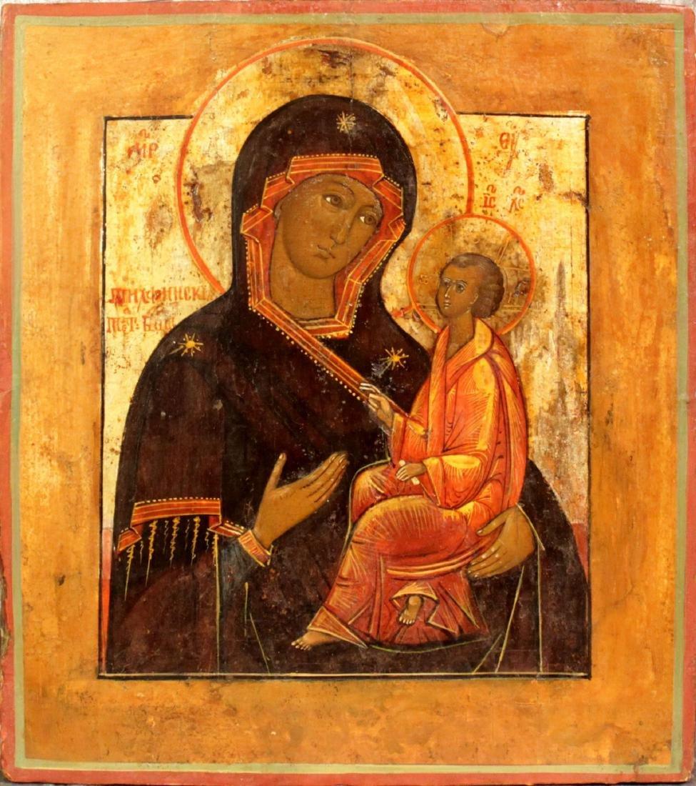 Our Lady Hodegetria of Tichvin (Theotokos of Tikvin)