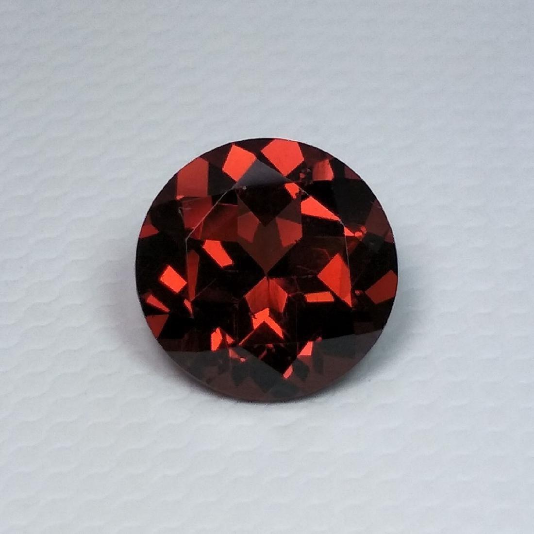 2.28 Carat Loose Pyrope - Almandite Red Garnet - 3