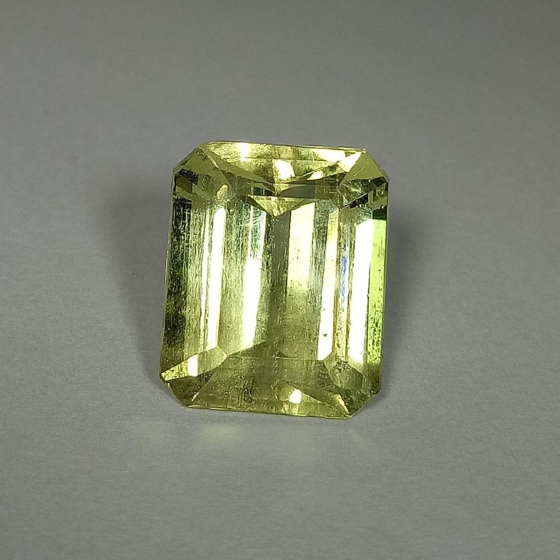 5.87 Carat Loose Yellow Beryl