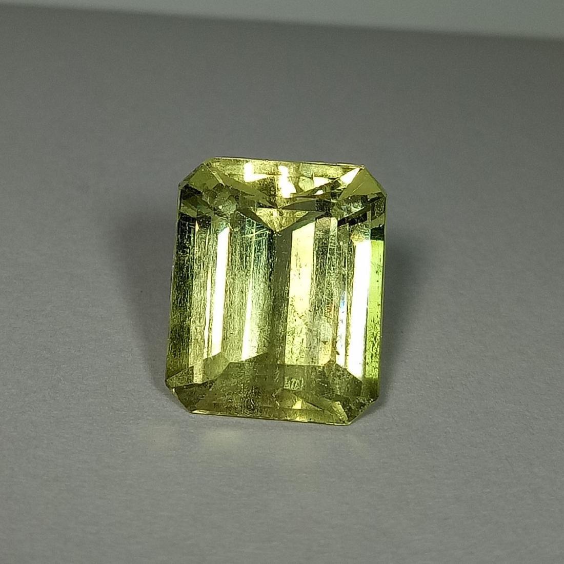 5.87 Carat Loose Yellow Beryl - 2