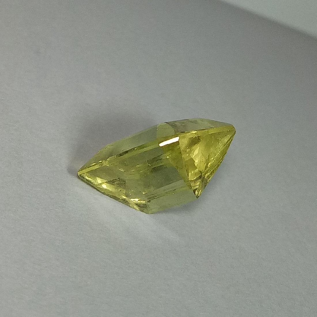 5.87 Carat Loose Yellow Beryl - 4