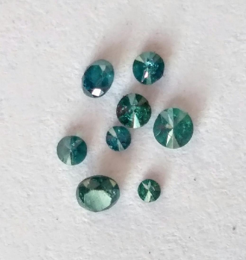 0.5 Carat Loose South African Blue Diamonds - 5