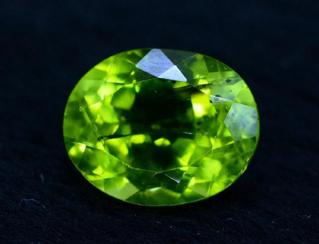 4.20 Carat Peridot Loose Gemstone - 2
