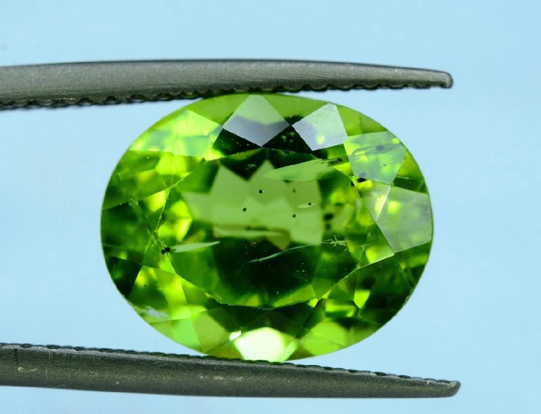 4.20 Carat Peridot Loose Gemstone - 3