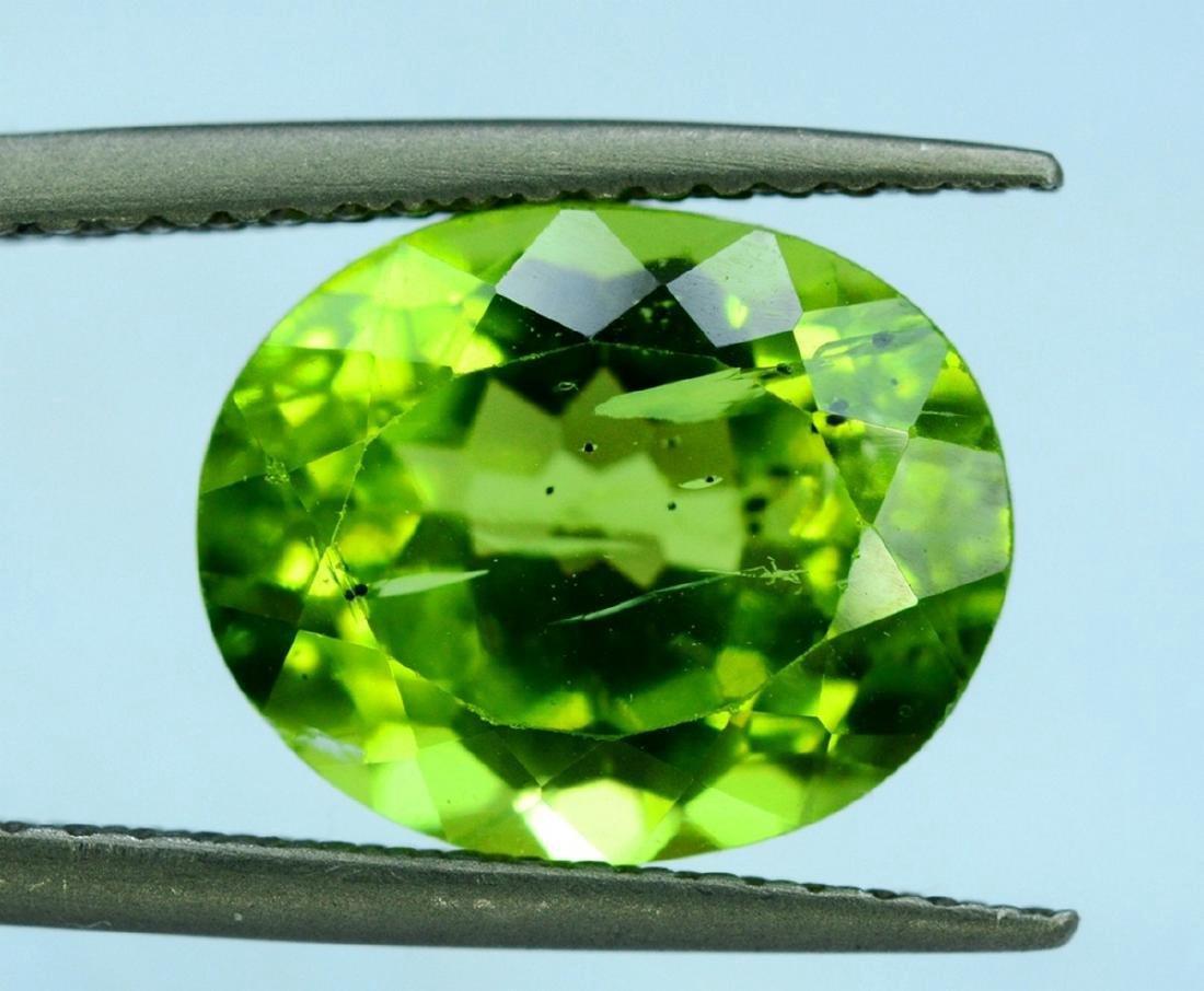 4.20 Carat Peridot Loose Gemstone - 4