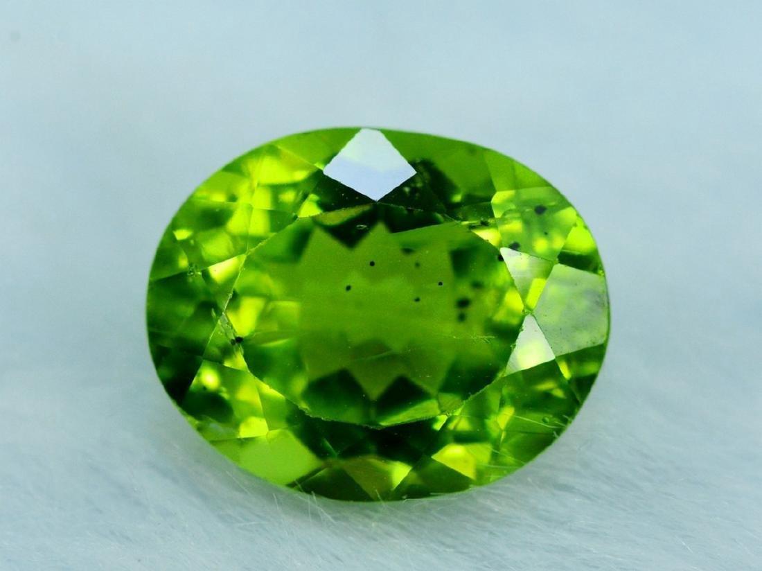 4.20 Carat Peridot Loose Gemstone - 5
