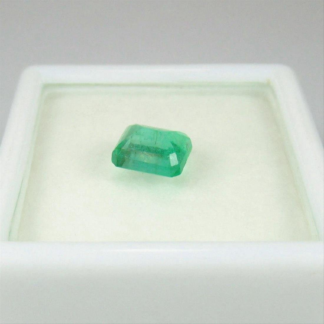 0.92 Carat Loose Octagon Emerald - 2