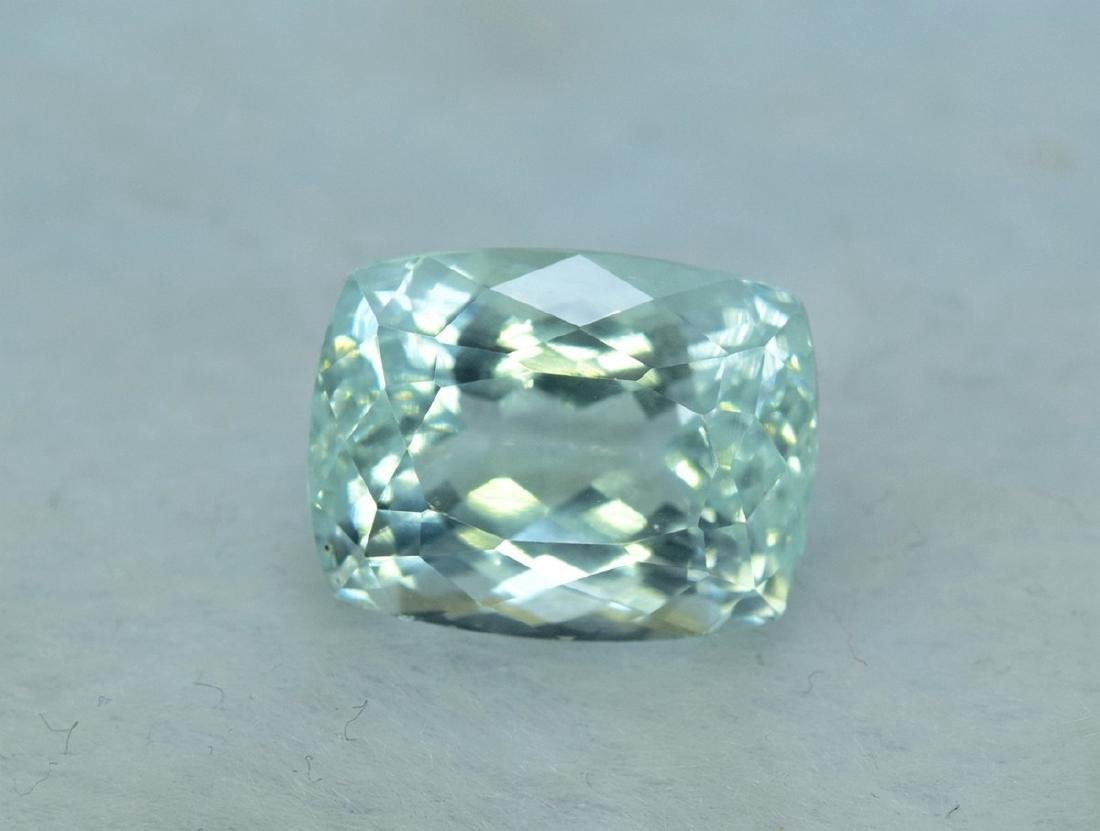 13.96 Carat Certified Natural Aquamarine Loose Gemstone