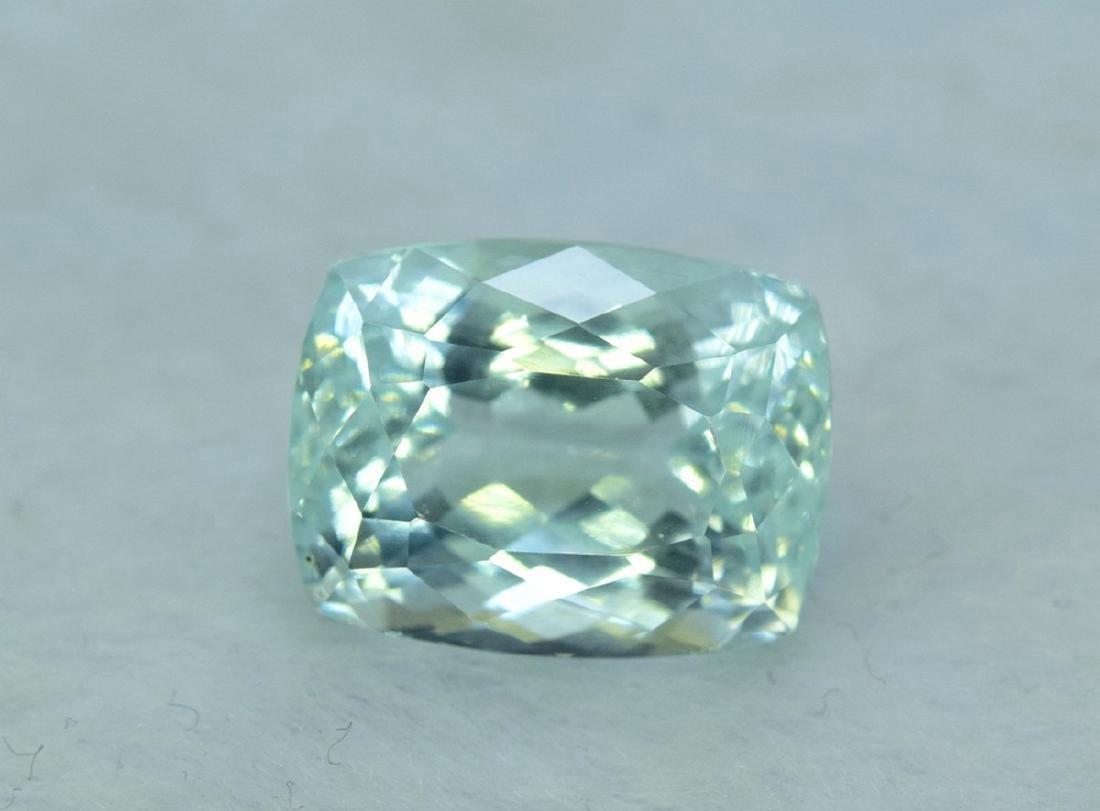 13.96 Carat Certified Natural Aquamarine Loose Gemstone - 2