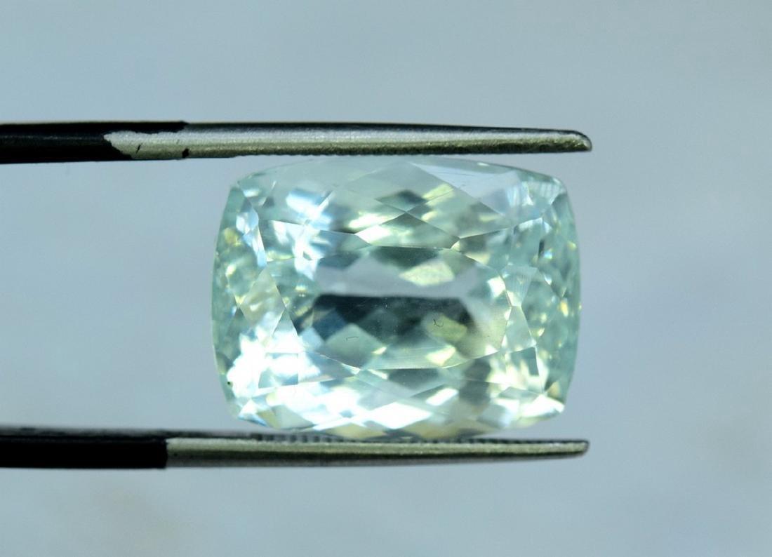 13.96 Carat Certified Natural Aquamarine Loose Gemstone - 6