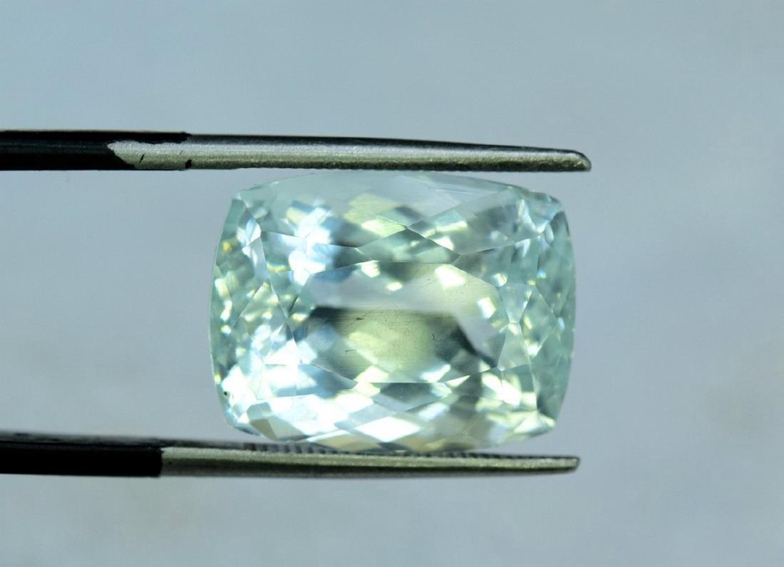 13.96 Carat Certified Natural Aquamarine Loose Gemstone - 7