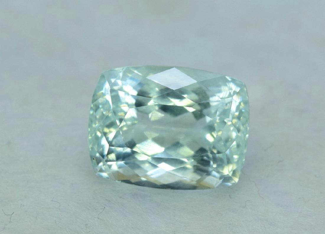 13.96 Carat Certified Natural Aquamarine Loose Gemstone - 8