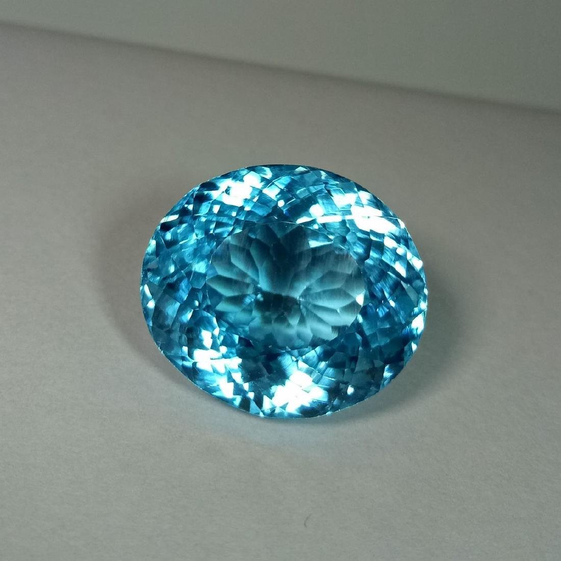 39.39 Carat Loose Swiss Blue Topaz