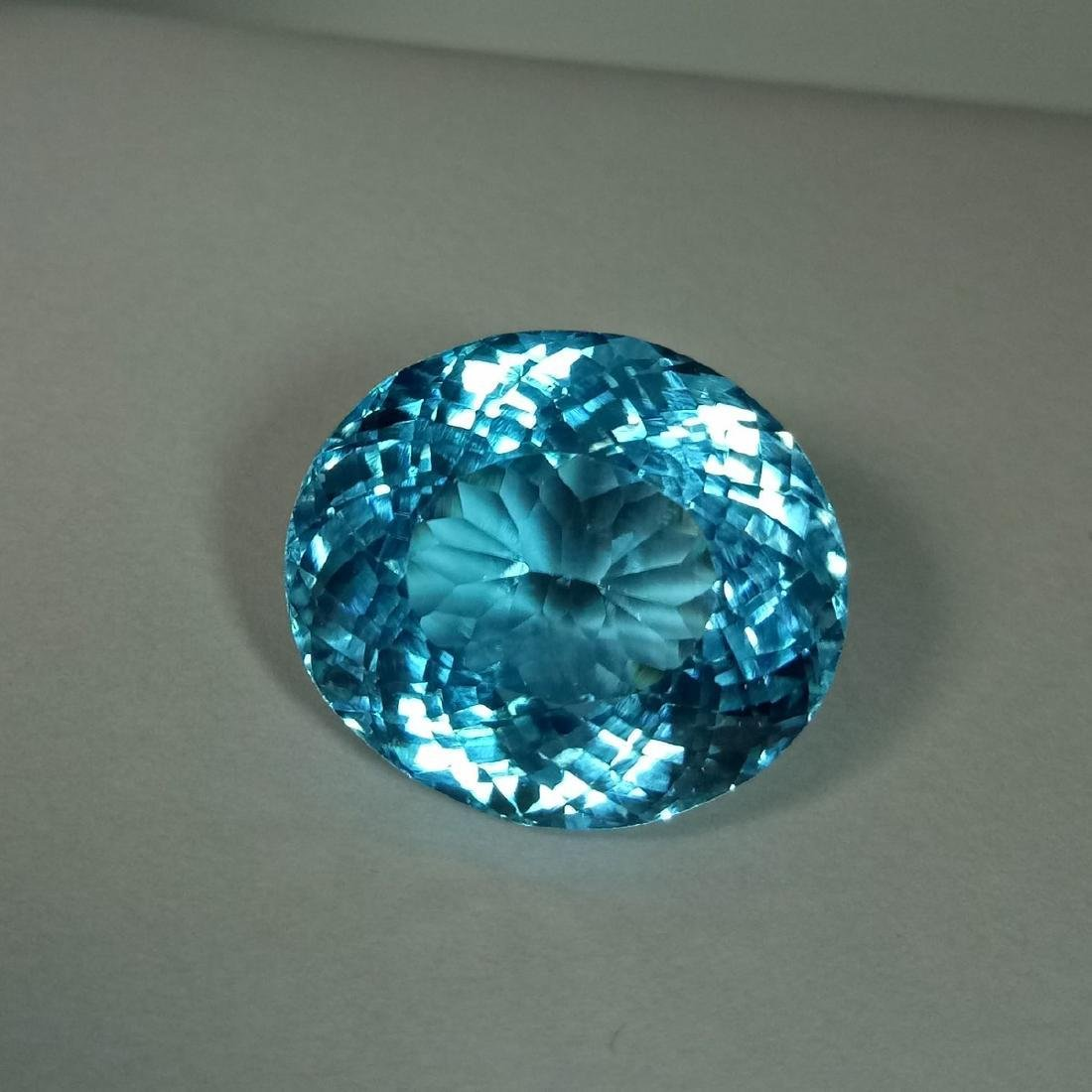 39.39 Carat Loose Swiss Blue Topaz - 3