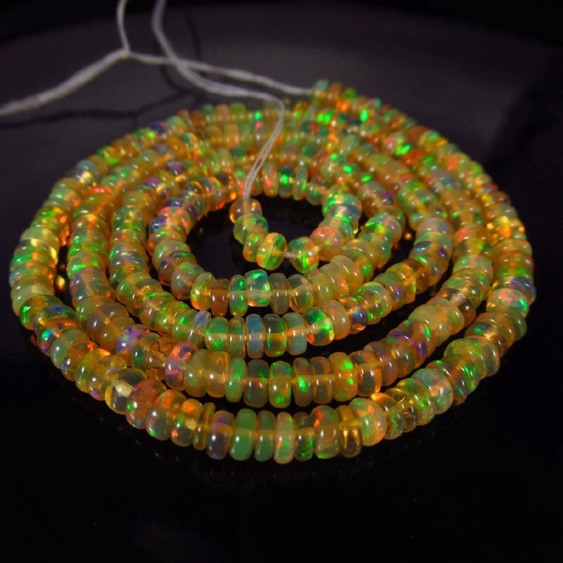 32.67 Carat Natural 255 Loose Ethiopian Opal Beads