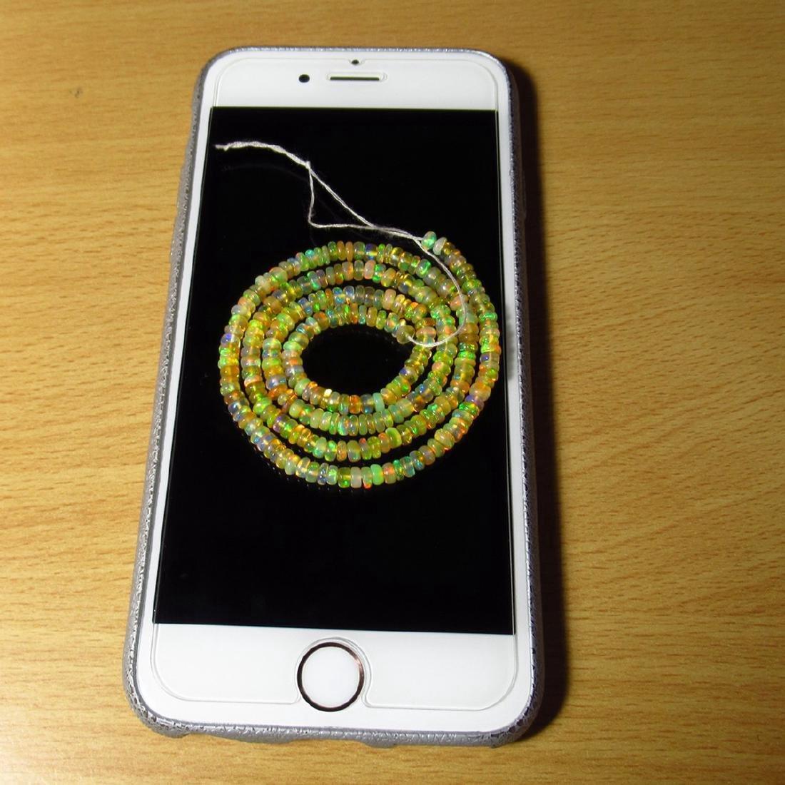 32.67 Carat Natural 255 Loose Ethiopian Opal Beads - 2